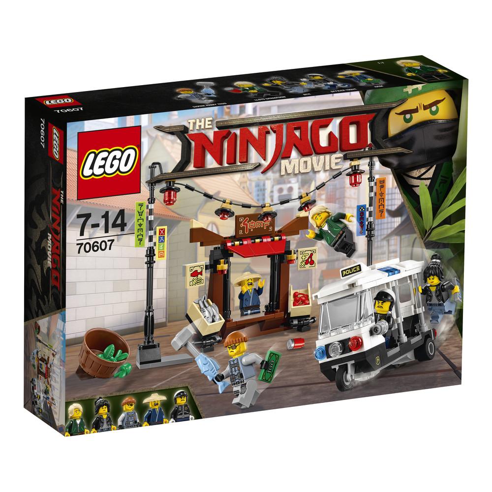 Конструктор «LEGO» (70607) Ограбление киоска в НИНДЗЯГО Сити