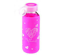 Бутылка Color Heart, 5 цветов ( бутылка с сердечком )