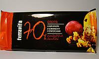 Шоколад черный Terravita хлопья+фрукты 100 г
