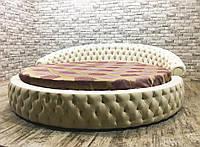 Круглая елитная кровать Letti