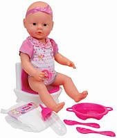 Кукольный набор Simba New Born Baby Уборная 38 см (503 2483)