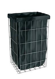 Корзина для использованных бумажных полотенец напольная из нержавеющей стали