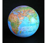 """Глобус вращающийся """"круговорот"""" свет, 15 см, 4 цвета"""