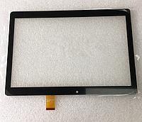 Оригинальный тачскрин / сенсор (сенсорное стекло) Cube T10 U11GT (тип 1) | Cube T12 U12GT (черный, самоклейка)