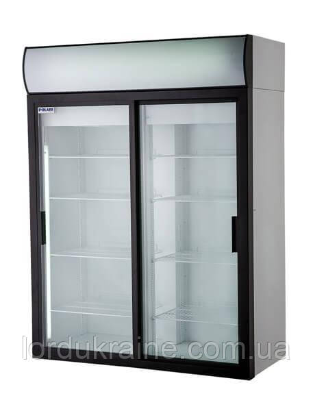 Холодильный шкаф DM 114SD-S Polair (ШХ-1,4 купе)