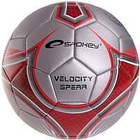 Футбольный мяч Spokey Velocity Spear Серый с красным
