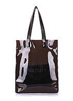 Прозрачнаяженская сумкаPoolpartyToxic(черная)