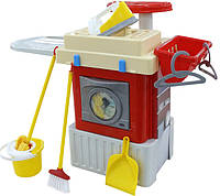 Игровой набор Полесье Infinity Basic №3 со стиральной машиной (42293)