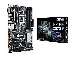 "Материнская плата Asus Prime Z270-P s.1151 DDR4 ""Over-Stock"" Б/У"