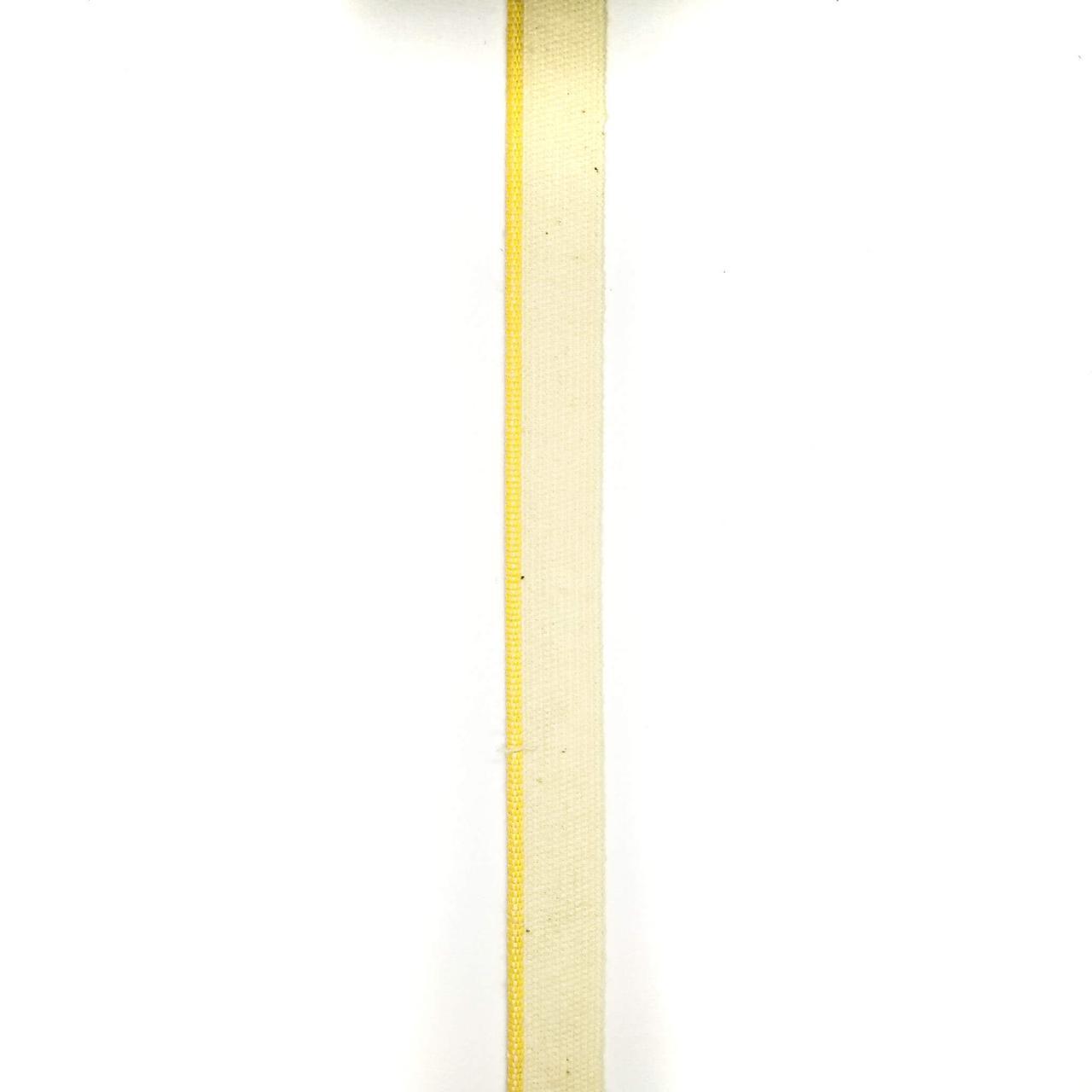 Стрічка каптал бортик бавовна 14 мм (200м/рулон)