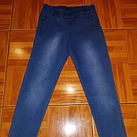 Лосины джинсовые для девочек от 6 до 10 лет