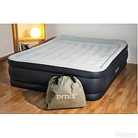 Двухспальная надувная флокированная кровать