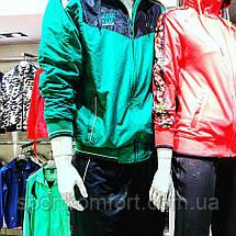 Тёплый спортивный костюм , зеленый/чёрный, SOCCER, размер 48., фото 3