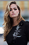 Платье черное длинное Италия Anima Gemella, фото 3