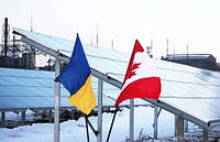 На деньги канадских инвесторов построили крупнейшую солнечную электростанцию на Днепропетровщине