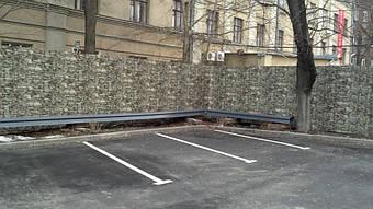 """Забор из профнастила """"дикий камень"""" 4"""