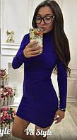 Платье гольф ангора мини  в расцветках 21665