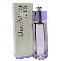 Женская туалетная вода Christian Dior Addict to life 100 ml не оригинал