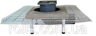 HL80C Трап для балконов и террас DN50/75 поворотный с CeraDrain, с морозоустойчивой запахозапирающей заслонкой