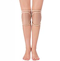 Наколенники защитные Queen accessories Natural Grip S Бежевый