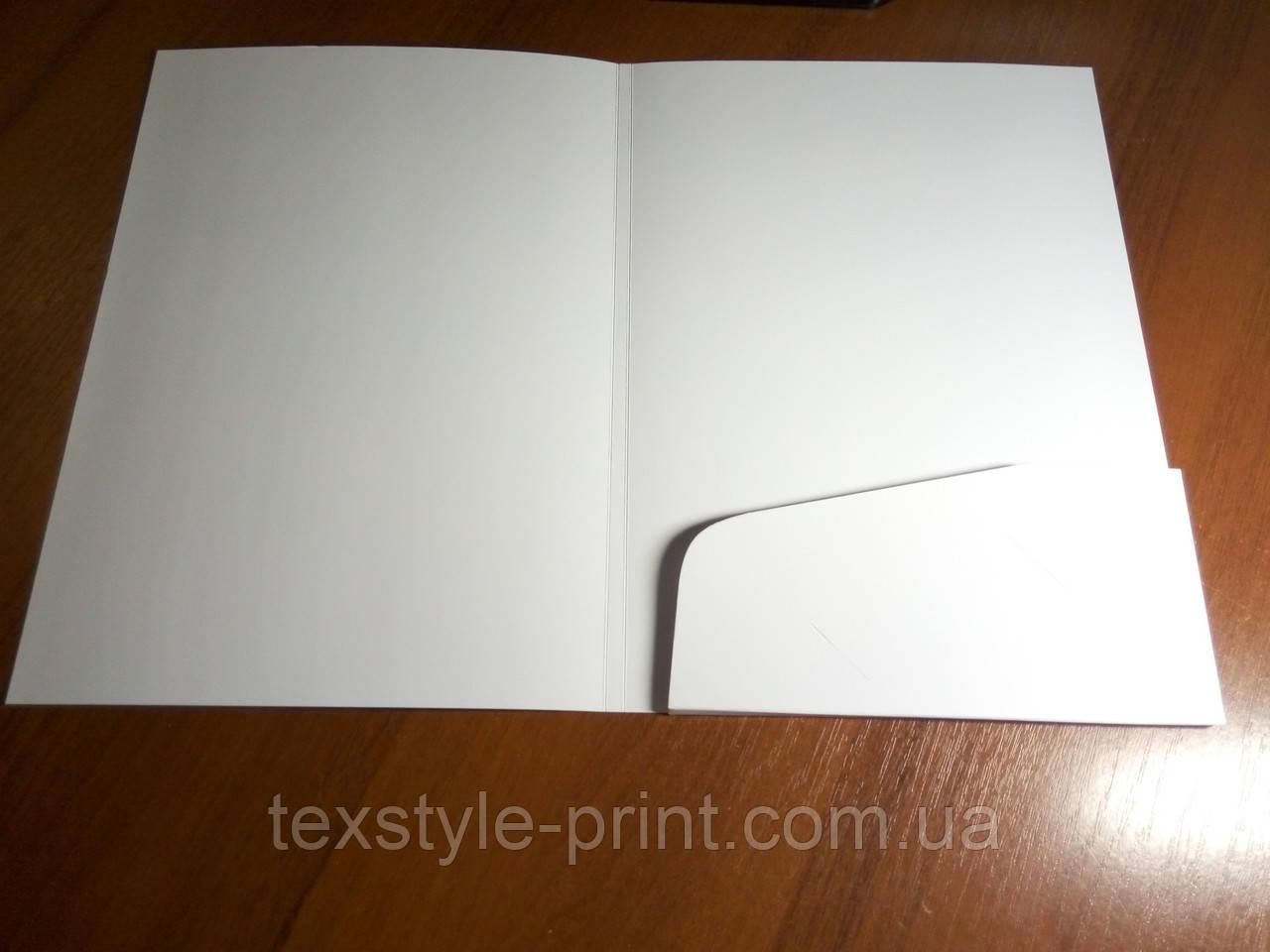 Изготовление папок с вклеенным карманом