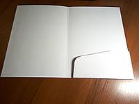 Изготовление папок с вклеенным карманом, фото 1