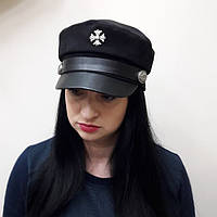 Кепка картуз фуражка капитанка кепи женская