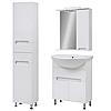 Комплект мебели для ванной комнаты Марко 60 с зеркальным шкафом Юввис