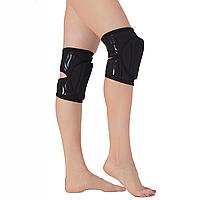 Наколенники защитные Queen accessories Black Grip L Черный