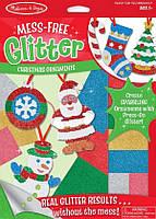 Объемные блестящие наклейки Melissa & Doug Рождественские украшения (MD19503)