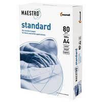 "Бумага офисная А-4 ""Maestro"", 80г / м2, Standart / класс С + / ш.к ."