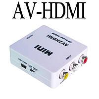 AV-HDMI 1080p (Тюльпаны RCA) конвертер адаптер переходник
