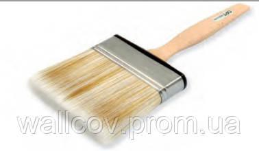 Кисть плоская с деревянной ручкой абсолют 70 мм QPT