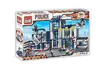 """Конструктор """"Поліція - Поліцейський відділок"""" 951 деталь 1918 Brick кор. 62*40*8 см"""