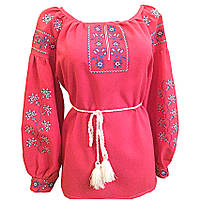 Вышиванка женская Авторская вышиванка 60 Красный (105712)