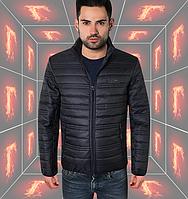 Весенняя модная куртка - 308 темно-синий
