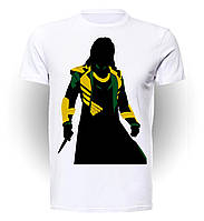 Футболка мужская размер L Geek Land Локи Loki Dark World LO.01.010
