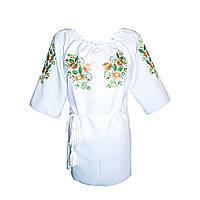 Вышиванка женская Авторская вышиванка 52 Белый (5108)