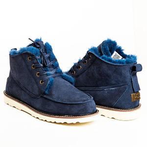 Мужские угги в стиле классической обуви