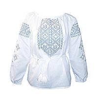 Вышиванка женская Авторская вышиванка 40 Белый (5432)