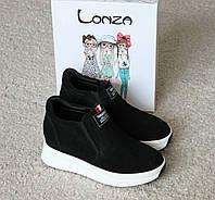 Женские кроссовки слипоны Lonza. Новая коллекция.