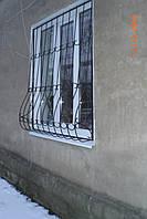 Решетка на окно сварная с элементами ковки - 59