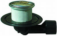 HL80R Трап для балконов и террас DN50/75 поворотный с морозоустойчивой запахозапирающей задвижкой