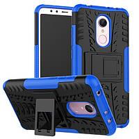 Чехол Xiaomi Redmi 5 Plus 5.99'' противоударный бампер синий