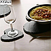 Костеры 12х10 см; сердце, натур., сланец, фото 6