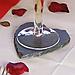 Сланцевий костер (бірдекель) 12*10 см, Сланцевий посуд, фото 7