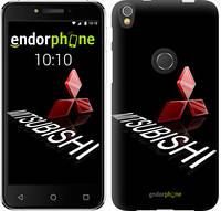 Чехол на iPhone X Mitsubishi. Logo v3