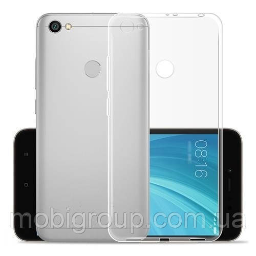 Чехол силиконовый прозрачный Xiaomi Note 5A, 0.5mm