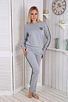 Костюм спортивный женский серый