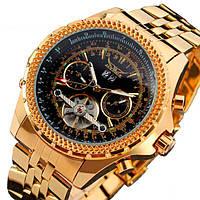 Мужские часы Jaragar 1088 Golden
